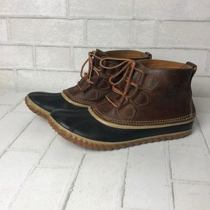 Sperry Out N' About Short Rain Boot 9